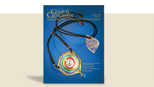 Gems & Gemology Spring 2016 Cover
