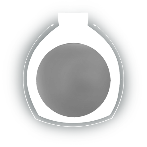 Evaluate the quality of a platinum ruthenium ring with diamonds in the shank that was sized up using a laser welder. Contains video and illustrations.