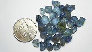 蓝色蓝宝石
