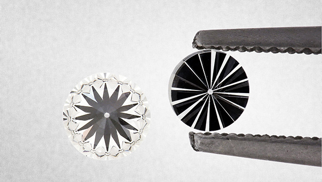 Laboratory-grown diamond anvils
