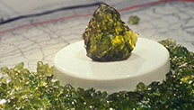 Peridot from New Mexico, USA