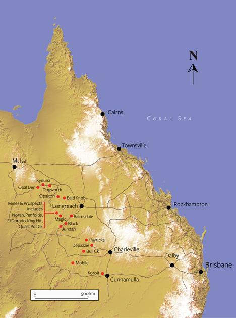 昆士兰蛋白石矿场
