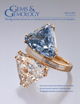 Gems & Gemology Cover
