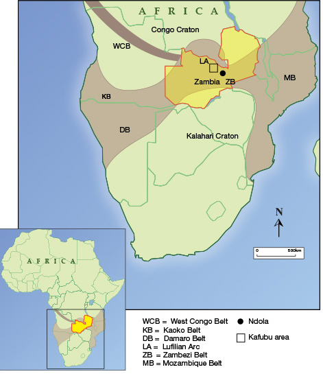 Kafubu Location