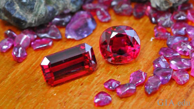 Cambodian-Thai Ruby