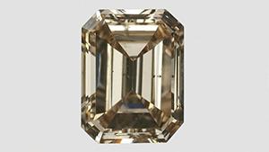 珍しいブラウン合成CVDダイヤモンド