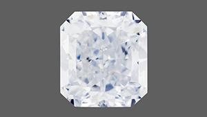 明るいブルーのタイプIIbダイヤモンド