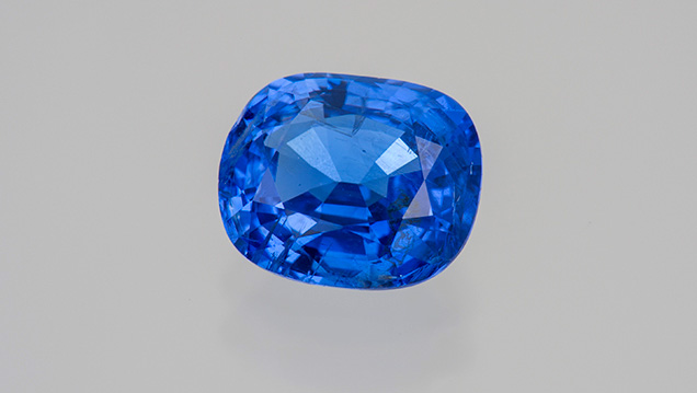 2.59 ct cobalt blue spinel