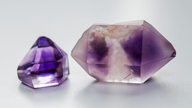 Moroccan amethyst crystals