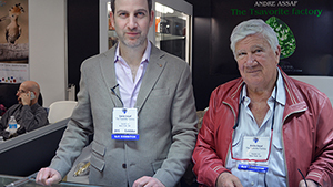 Daniel and Andre Assaf of the Tsavorite Factory