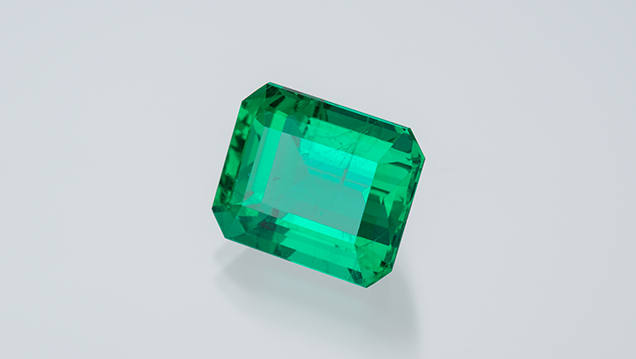 Emerald from Belmont mine
