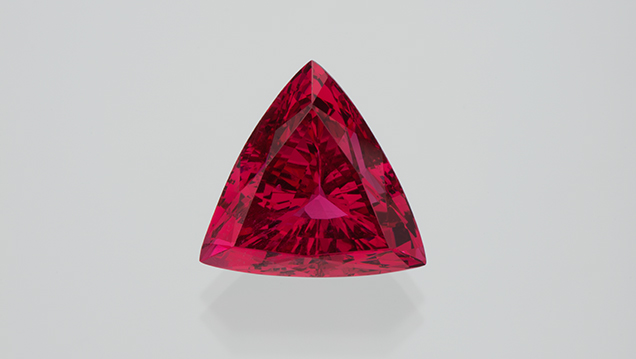 Tanzanian red spinel