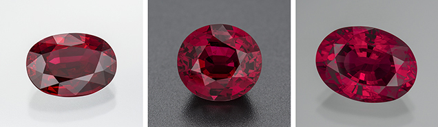 Heated rubies from Mozambique