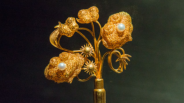 Replica of Qing dynasty hairpin