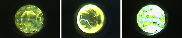 DiamondView of synthetic melee