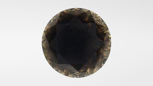 Diamond within black diamond