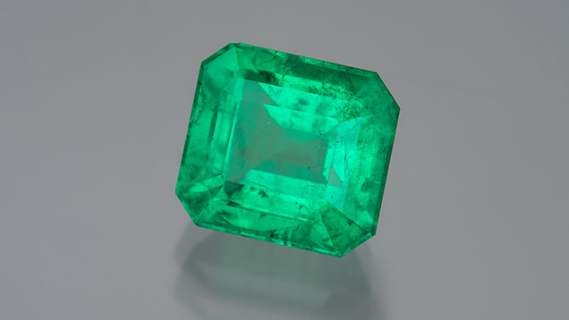 Yunnan emerald at Tucson