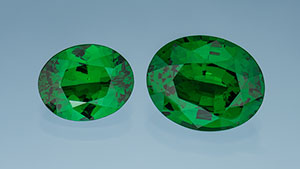 New tsavorite production from Scorpion mine