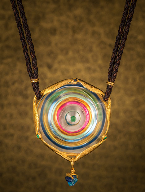 Wheel of Light Numinous pendant