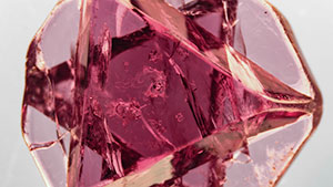 Rare spinel macle