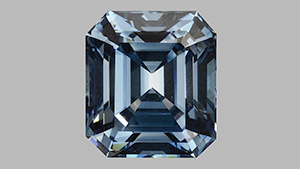 5.03 ct Fancy Deep Blue HPHT Synthetic Diamond