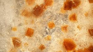 Svanbergite inclusions in dolomite
