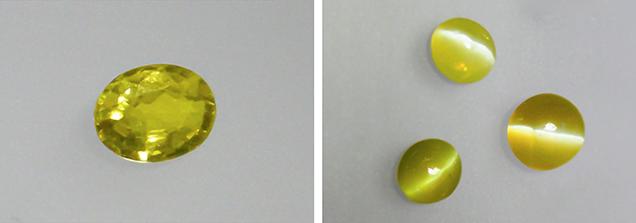 Cchrysoberyl samples