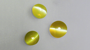 chrysoberyl samples