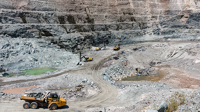 Zambia's Kagem emerald mine.