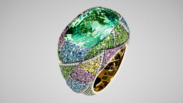 Faberge jewelry piece