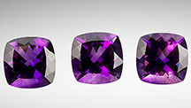 Amethyst with red flashes of color.