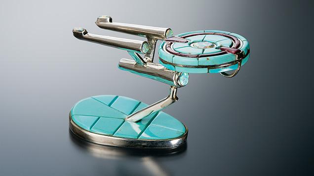 Handmade Starship Enterprise
