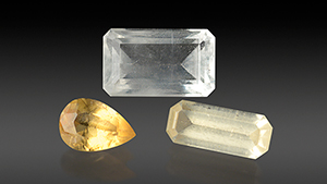 Wagnerite, thaumasite, and strontianite.