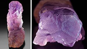 Bolivian ametrine crystal.