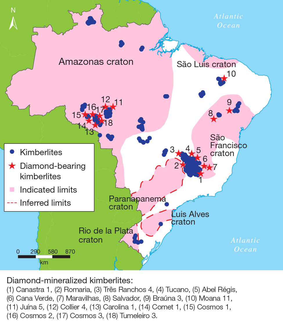 Brazilian Diamonds A Historical And Recent Perspective