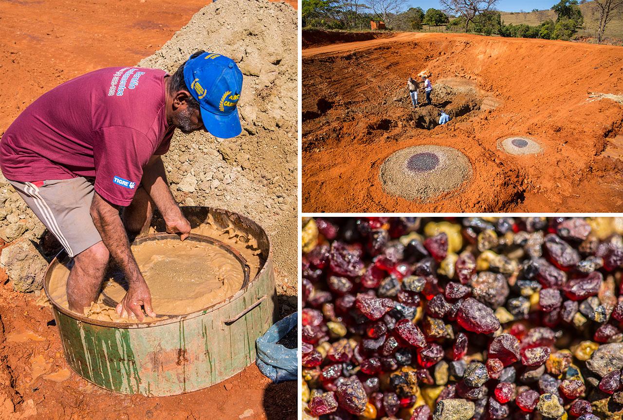 Brazil's Vargem 1 kimberlite