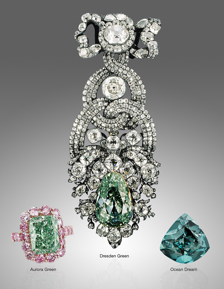 Famous green diamonds.