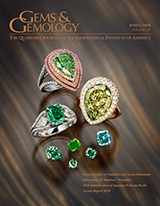 Spring 2018 Gems & Gemology