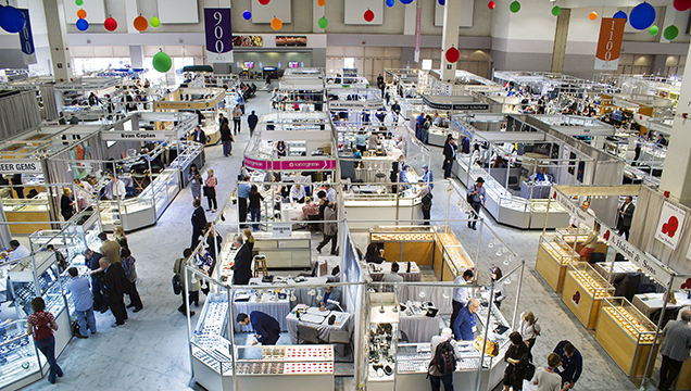 Demand was brisk at the 2018 AGTA show in Tucson.