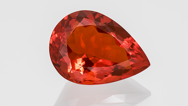 Mexican fire opal with good claritiy