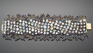 Moon Dance bracelet by Paula Crevoshay.