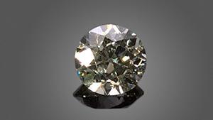 Old European cut diamond.