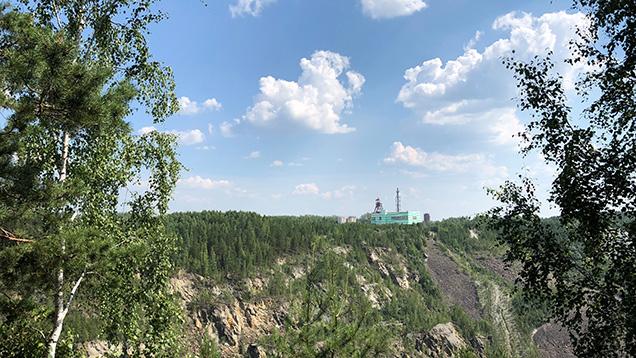 The Malysheva emerald mine in Russia.