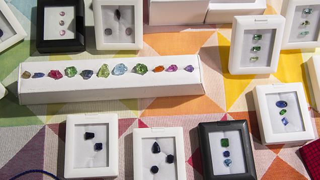 Gemstones from Anza Gems.