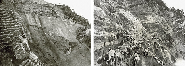 Mining at Chivor in the 1920s