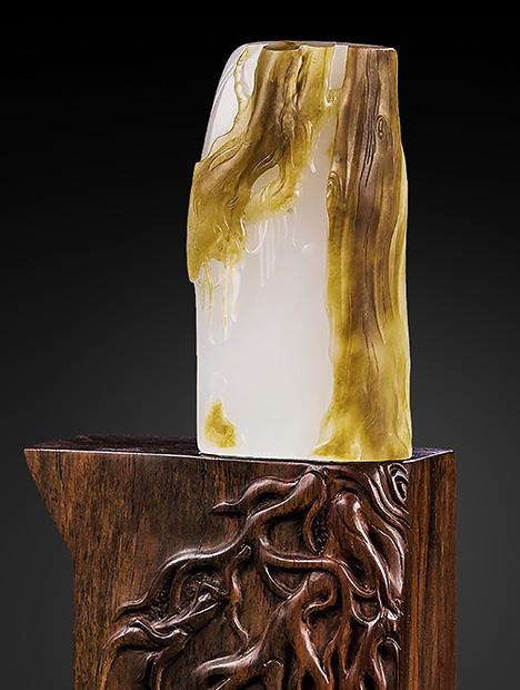 Modern work depicting a Zen sensibility.