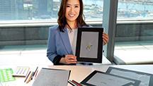 A graduate of GIA's Hong Kong Jewelry Design program hopes her award-winning design will help raise environmental awareness.