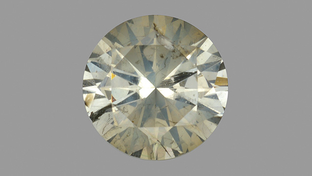 CVD film on 0.27 ct diamond