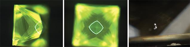 DiamondView imaging of type Ib CVD-grown synthetic diamond