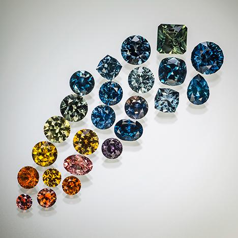 Rock Creek cut sapphire